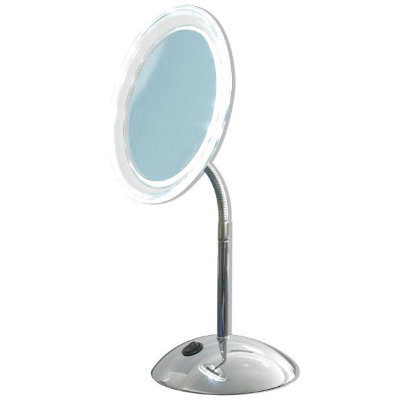 kosmetikspiegel online kaufen maedje kg design led stand wand kosmetikspiegel. Black Bedroom Furniture Sets. Home Design Ideas