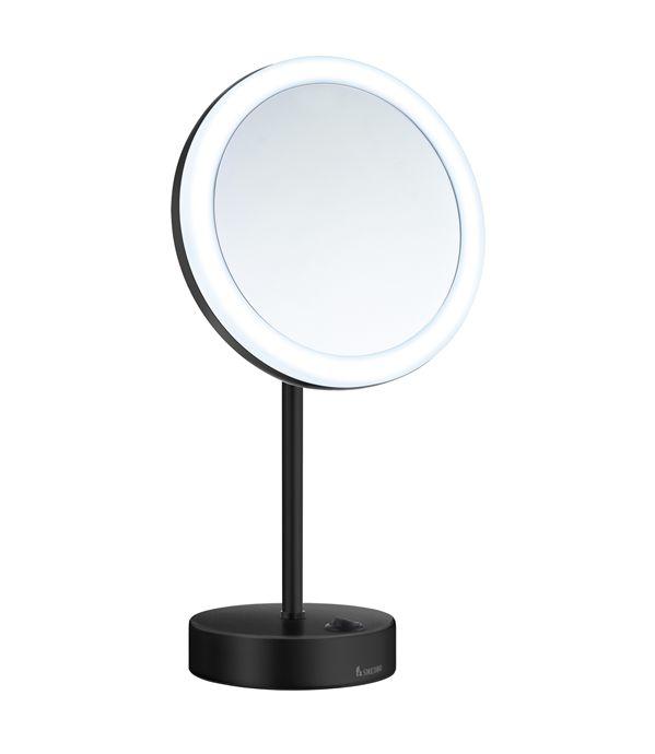 kosmetikspiegel online kaufen maedje kg smedbo fk484eb batterie stand led kosmetikspiegel. Black Bedroom Furniture Sets. Home Design Ideas