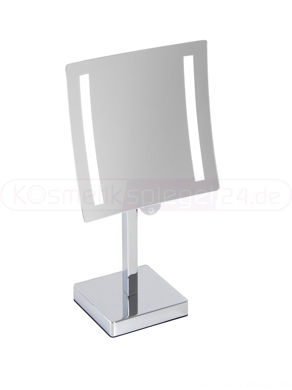 kosmetikspiegel online kaufen maedje kg deusenfeld sl544b led stand kosmetikspiegel. Black Bedroom Furniture Sets. Home Design Ideas
