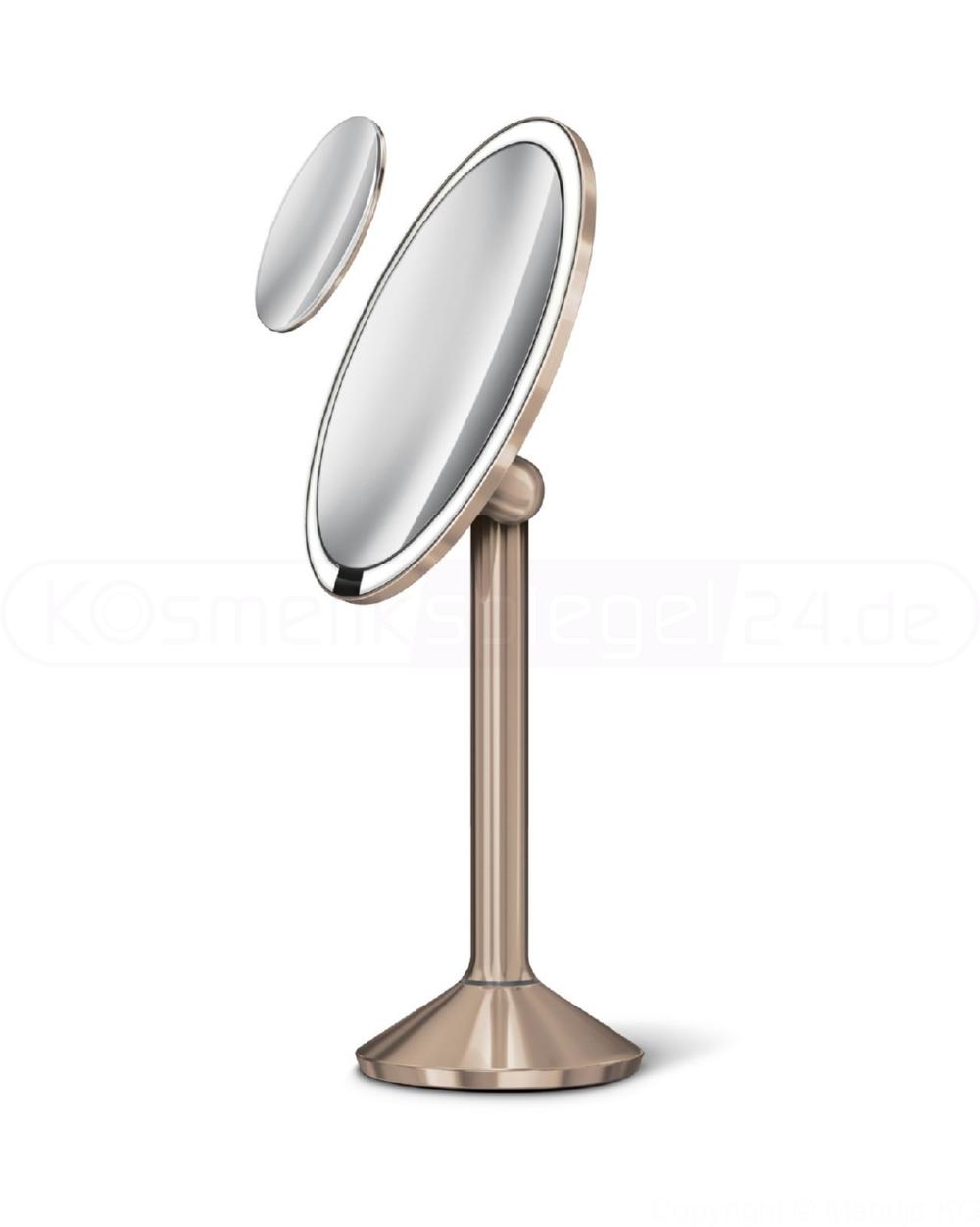 graues Geh/äuse Do!LED A10G LED SMD Make Up Spiegel Schminkspiegel Beleuchtung Plug /& Play Kalt Wei/ß