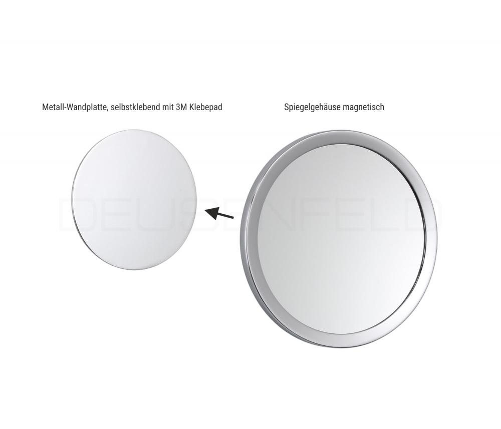 kosmetikspiegel selbstklebend 10 fach