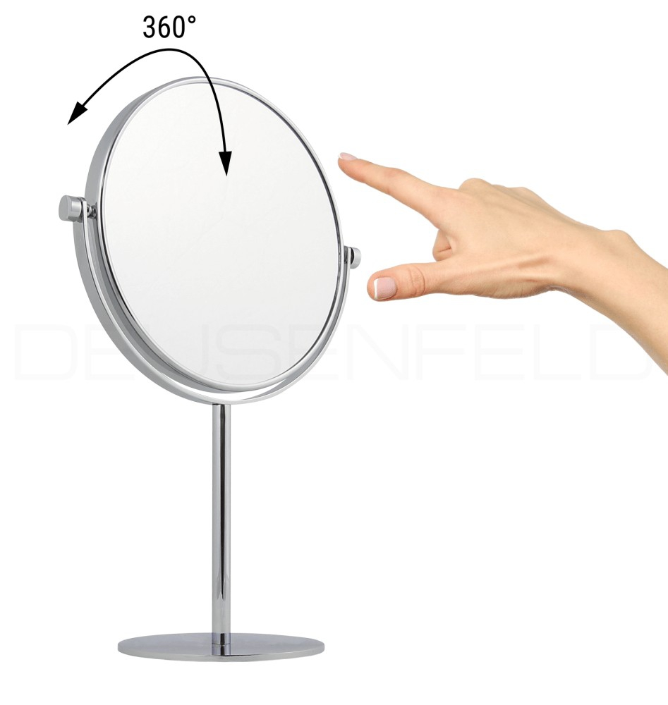 kosmetikspiegel online kaufen maedje kg deusenfeld sk1020 doppel stand kosmetikspiegel. Black Bedroom Furniture Sets. Home Design Ideas