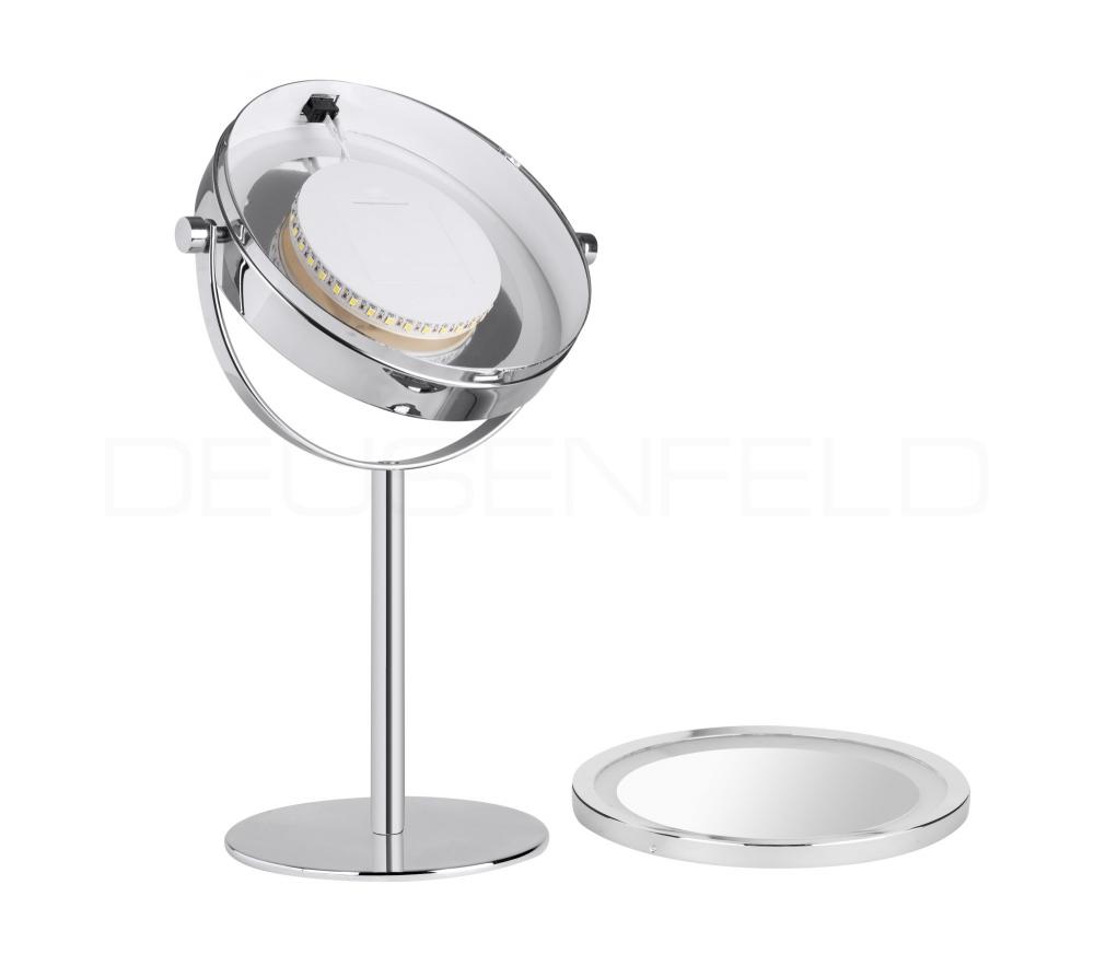kosmetikspiegel online kaufen maedje kg deusenfeld sl10cb batterie led doppel stand. Black Bedroom Furniture Sets. Home Design Ideas