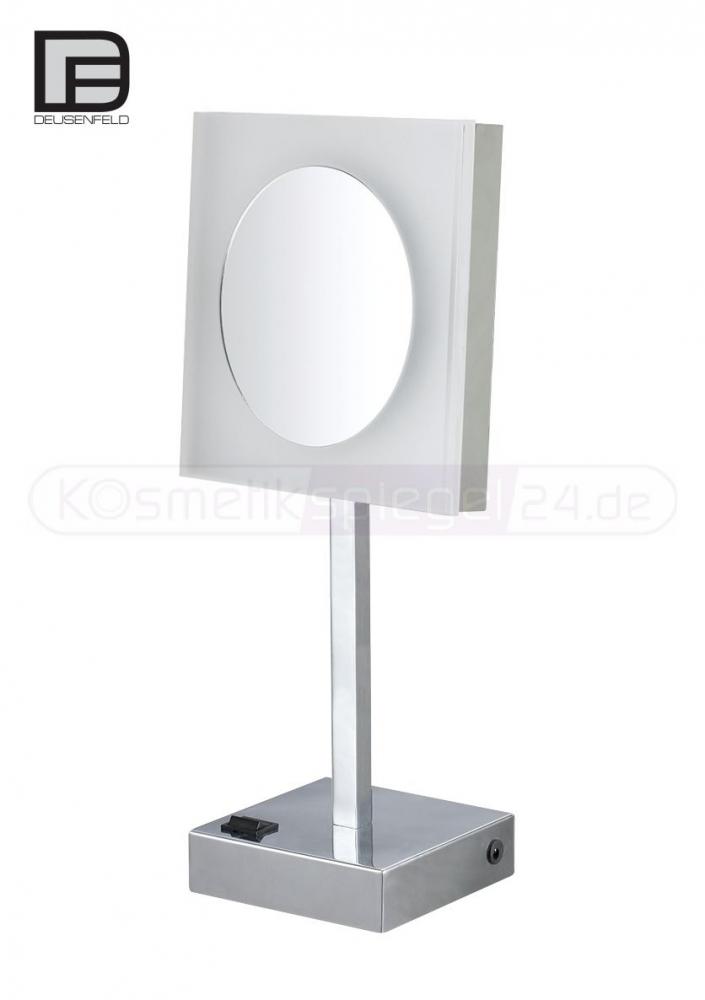 kosmetikspiegel online kaufen maedje kg deusenfeld sp740a akku stand led kosmetikspiegel. Black Bedroom Furniture Sets. Home Design Ideas